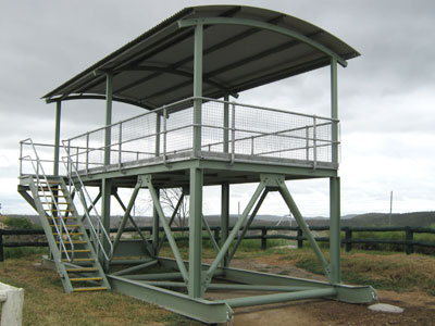 Project - Anglo American Callide Mine Observation Deck made by Callide Manufacturing Company Biloela.