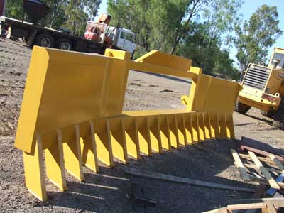 Projects - Stick rake and Cutter bar made by Callide Manufacturing Company Biloela.